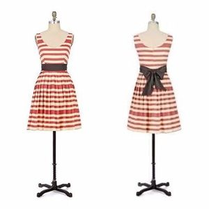 Corey Lynn Calter   Striped Carandy Dress Size 0